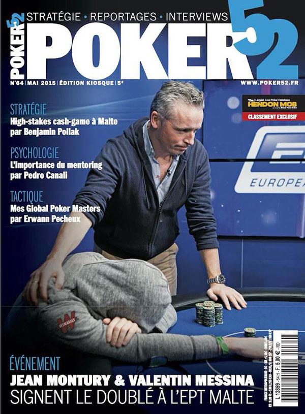 couverture poker52 mai 2015