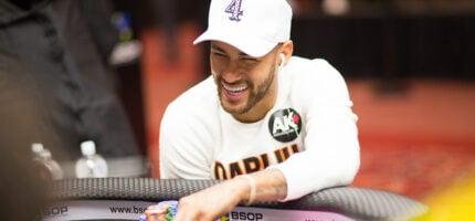 Neymar, le joueur de poker