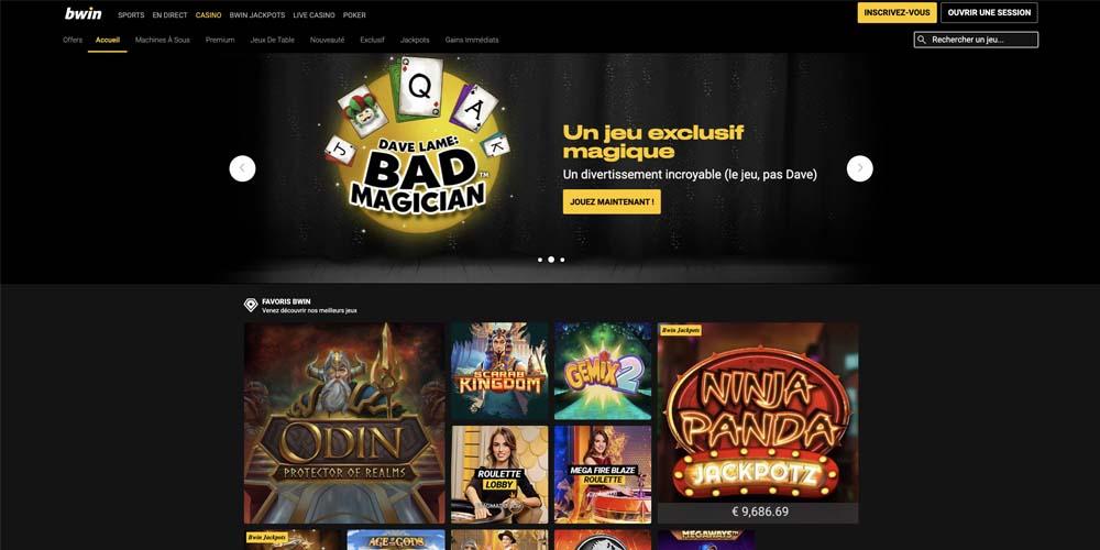 screenshot bwin games