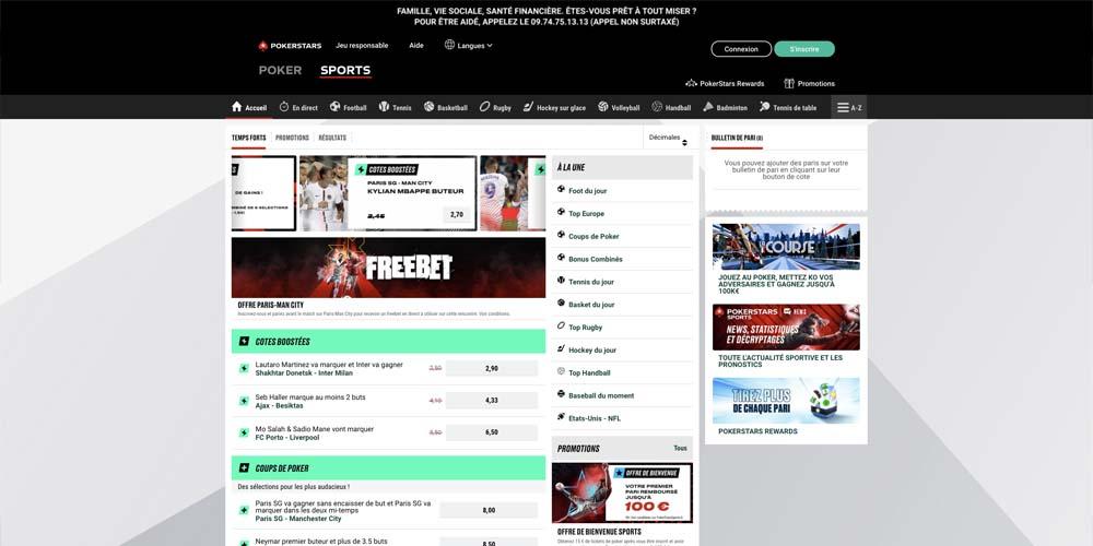 screenshot pokerstars games