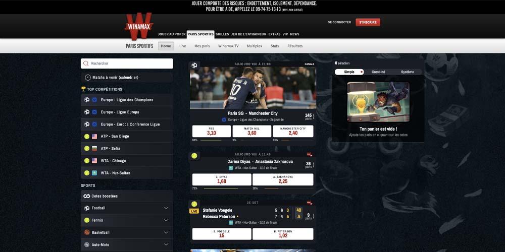 screenshot winamax games